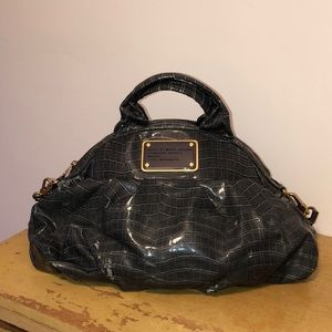 Faux Croc Gray Marc by Marc Jacobs Tote